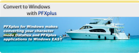 Convert to Windows with PFXplus